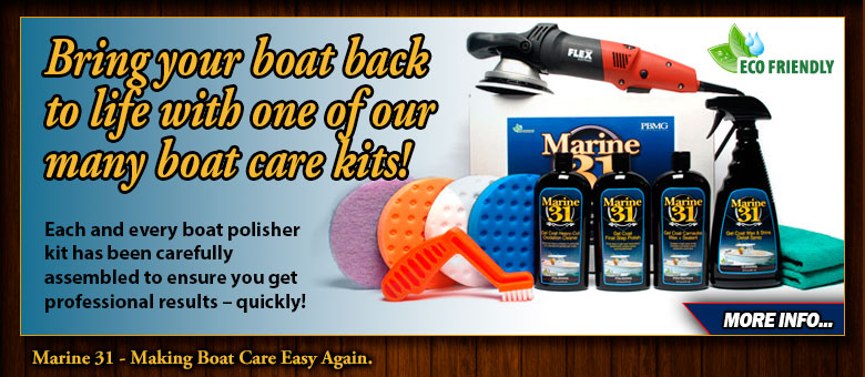 Boat Care Machine Kits
