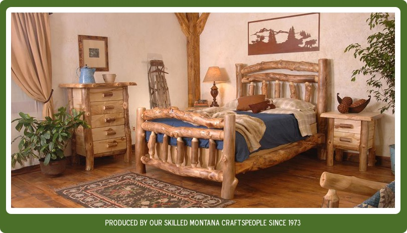 View our Aspen Log Furniture.