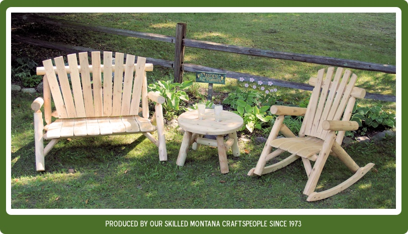 View our Cedar Log Furniture.