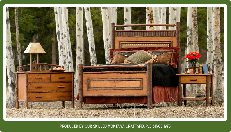 View our Hickory Log Furniture.