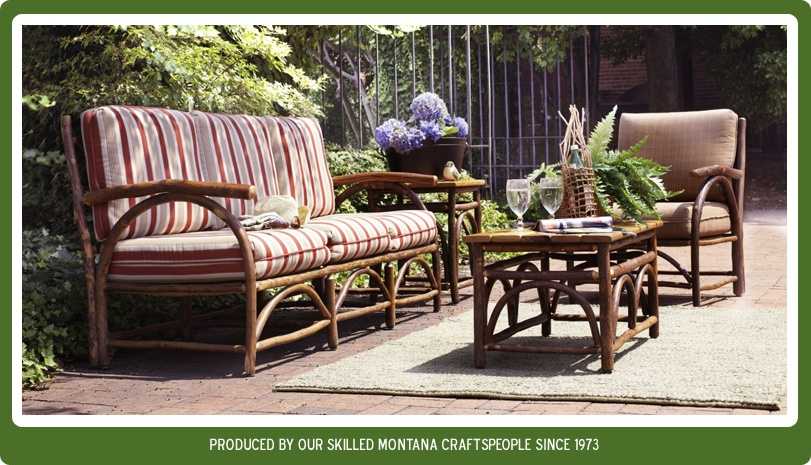Log Patio Furniture Sets Crunchymustard