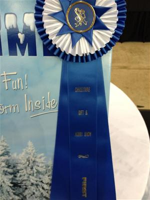 first place at the christmas gift hobby show - Christmas Gift And Hobby Show