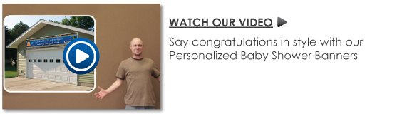 Personalized Birthday Party Banner Video