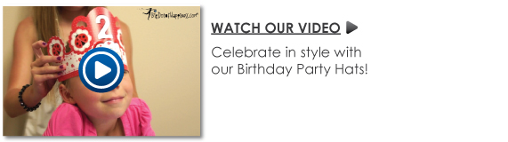 Personalized Birthday Party Hats Video