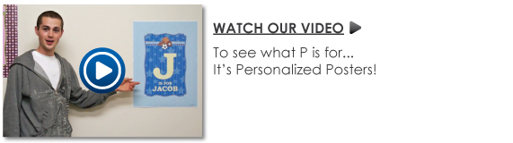Personalized Birthday Party Posters Video
