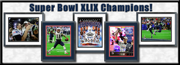 Super Bowl XLIX Champions Framed Pictures For Sale