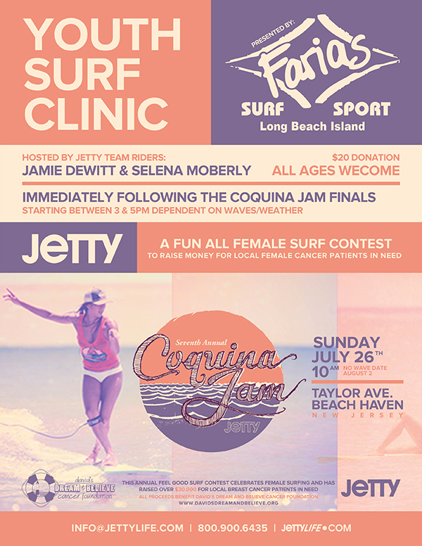 7th Annual Jetty Coquina Jam with Farias Surf and Sport