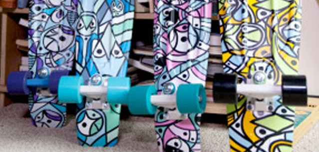 Farias Surf and Sport Skateboards