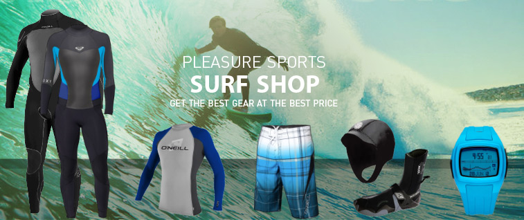 Surfing Shop Wetsuits and more!
