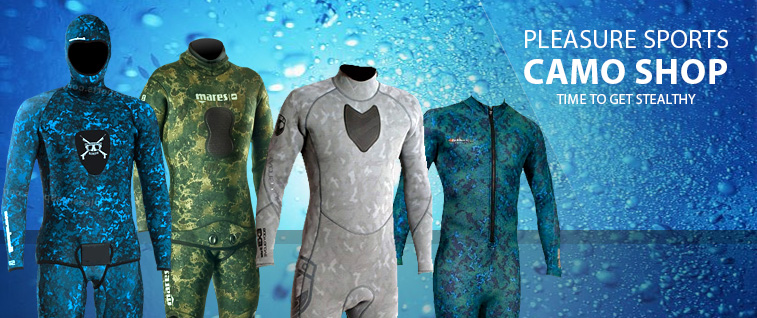 Shop Camo Wetsuits and more!