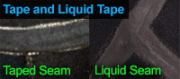Taped Seams / Liquid Seams