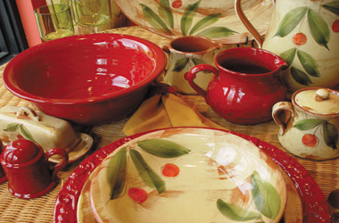 Mamma Ro Italian Dinnerware and Accessories