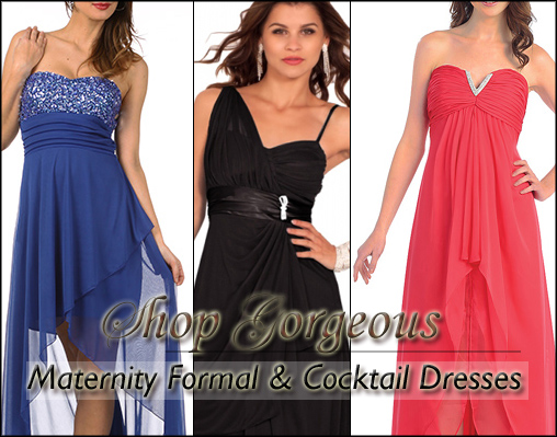 Trendy Tummy Maternity Dresses for Special Occasions