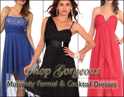 Shop Maternity Dresses & Gowns for All Occasions