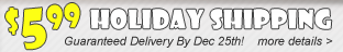 Guaranteed Holiday Delivery Deals - Click Here!