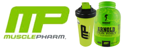 FREE Blender Bottle With Arnold Schwarzenegger Series Iron Whey 5 lb Purchase!