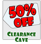 50% Off Clearance Cave