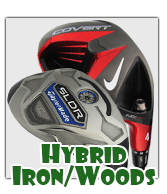 Left Handed Golf Hybrid Iron/Woods