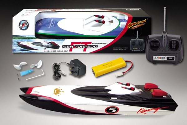 RC High Speed Dual Engine RC Racing Speed Boat