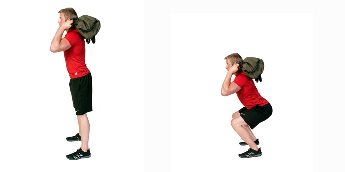 sandbag exercise