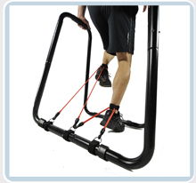 advanced pull up bar dip station workout