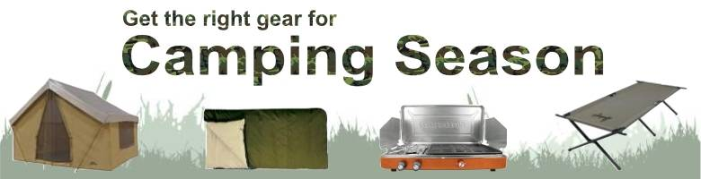 Get the right camping gear