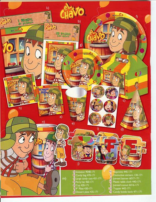 El+chavo+del+ocho+party+supplies