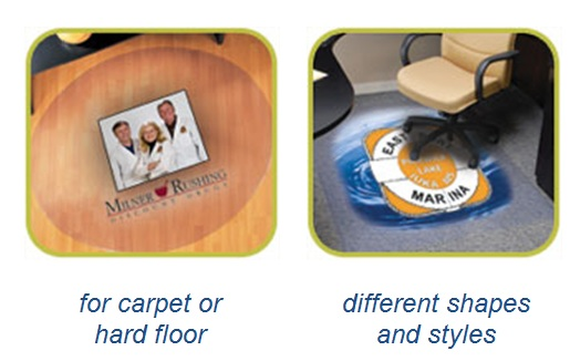 Chair Mats Custom Cut Specifications
