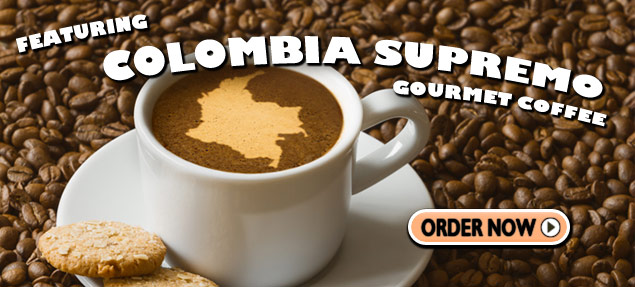Colombia Supremo Gourmet Coffee