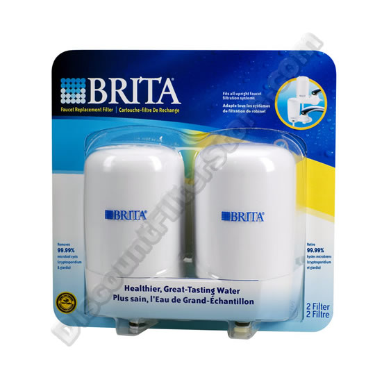 Brita 42402 Brita On-Tap FR-200 Faucet Filter Replacement Cartridge - White (2-Pack) at Sears.com