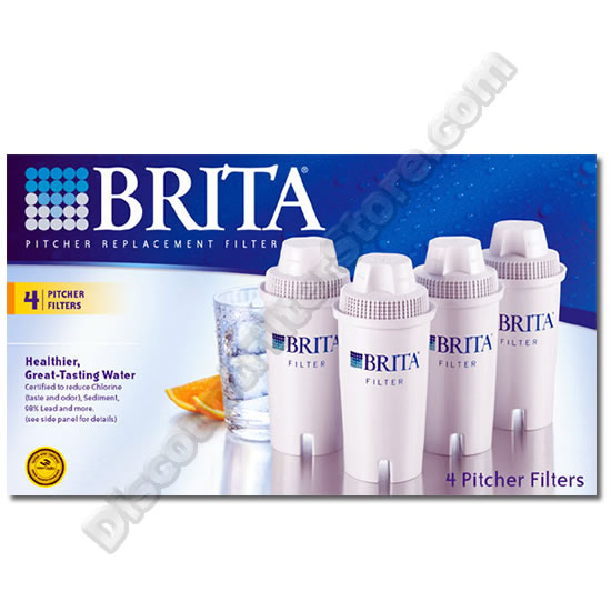 Brita 42432 Brita OB03 Pitcher Replacement Cartridge (4-Pack) at Sears.com