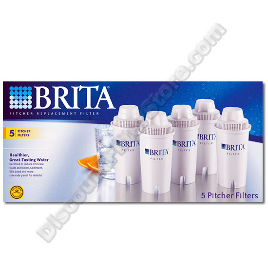 Brita 35516 Brita OB03 Pitcher Replacement Cartridge (5-Pack) at Sears.com