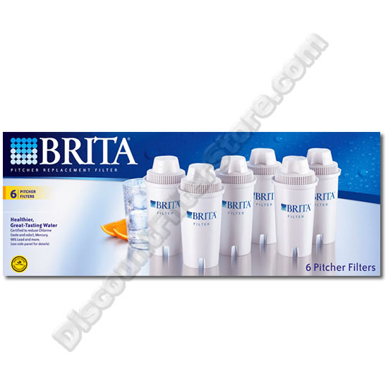 Brita 71048 Brita OB03 Pitcher Replacement Cartridge (6-Pack) at Sears.com