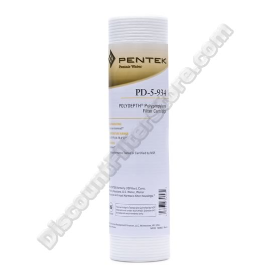 PENTEK PD-5-934 Pentek Undersink Filter Replacement Cartridge at Sears.com