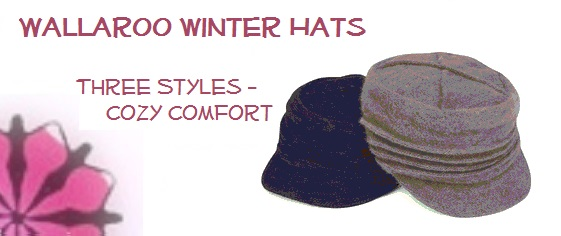 Winter Hats from Wallaroo Hats