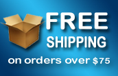 Free Ground Shipping On Order Over $75.00