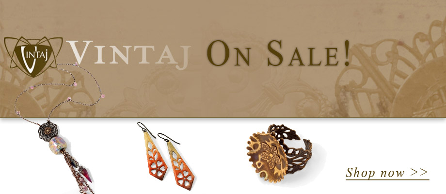 Vintaj Metal Accents & Vintaj Natural Brass Collections On Sale. Shop now >>