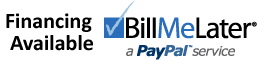 financing available Bill Me Later Paypal Service