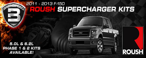 BRENSPEED F-150 ROUSH Supercharger Package