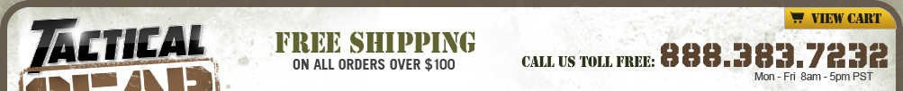 Free Shipping on Tactical Gear Over $100