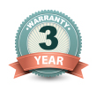 Up to 3 Years Warranty