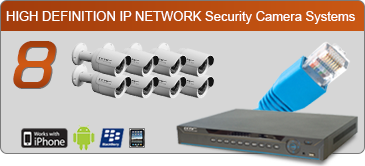 ip security camera system, 8 ip camera security system