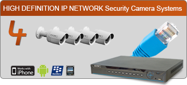 ip security camera, 4 camera