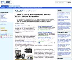 CCTVSecurityPros Announces their New HD Security Camera System Line