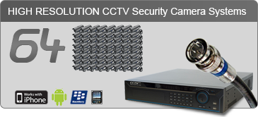 64 camera security system, security camera