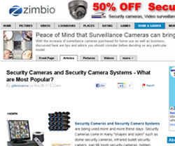 Security Cameras and Security Camera Systems