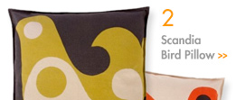 Scandia Bird Pillow