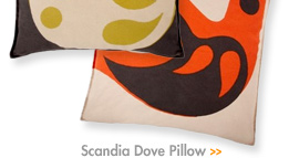 Scandia Dove Pillow