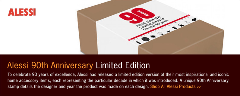 Alessi 90th Anniversary Limited Edition Introduction