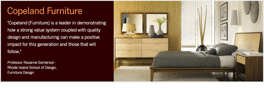 Copeland Furniture quote and insitu view